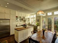 Park Slope Brownstone - traditional - Kitchen - New York - Ben Herzog - narrow island