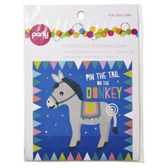 Pin the Tail on the Donkey Game | KmartNZ