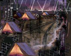 Urban Camping: art by Karina Martens