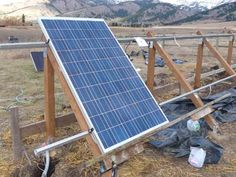 Ideas for DIY solar power projects.
