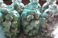 Concrete Garden, Russian Recipes, Small Farm, Spring Crafts, Cooking Tips, Garlic, Diy And Crafts, Home And Family, Mason Jars