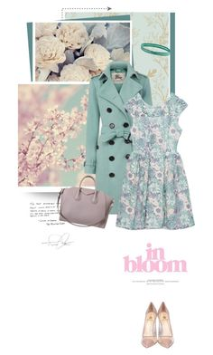 """Pretty Pastel Trench Coat"" by pippi-loves-music ❤ liked on Polyvore featuring Timorous Beasties, Burberry, Semilla, Givenchy, prAna, women's clothing, women, female, woman and misses"