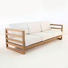 Manhattan A-Grade Teak Outdoor Sofa