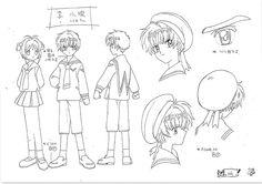 anime settei, , Cardcaptor Sakura, settei pre, settei sheet, model sheet Sakura Card, Manga Anime, Sakura, Character Drawing, Cardcaptor Sakura, Character Art, Animation, Anime Sketch, Anime Character Drawing