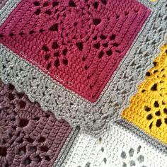 The Patchwork Heart: crochet blanket
