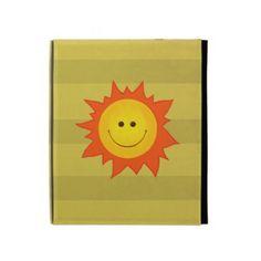 Happy Smiling Sun iPad Case