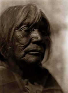 Washo Woman.1924 by Edward S. Curtis.