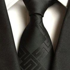 CityRaider 2018 Men's Suits Necktie Polyester Silk Plaid Ties Vestidos Business Bridegroom Neck Tie Gravata for Mens Mens Ties Crafts, Casual Tie, Wedding Ties, Men Formal, Tie Knots, Adulting, Mens Suits, New Outfits, Plaid