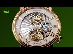 Imagine a watch that ends a long and passionate debate. And imagine that this watch has two spectacular hearts. The Tourbillon Carrousel fits this definition...