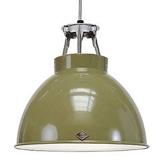 Original BTC (Davey Lighting) Titan 1 Pendant Light in Green by Peter Bowles Lighting Suppliers, Original Btc Lighting, Industrial Lamp, Metal Shades, Factory Lighting, Pendant Light, Light, Metal Workshop, Lights