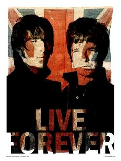 Oasis Liam and Noel Live forever Art Print Poster by Wig Noel Gallagher, Oasis Live Forever, Liam And Noel, Mundo Musical, We Will Rock You, Britpop, Grafik Design, Music Lovers, Music Is Life