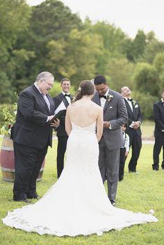 Williamsburg Winery Wedding | Outdoor wedding ceremony