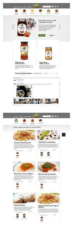 Mojlowicz.pl to kolejny serwis, który przygotowaliśmy dla firmy Agros Nova. Smakosze, i ciekawscy poszukiwacze nowości, dowiedzą się z niego wszystkiego o produktach firmy Łowicz! Znajdują się tam informacje zarówno o nowinkach, jak i tradycyjnych i uwielbianych od lat smakołykach.  Strona została wykonana w technologii Responsive Web Design