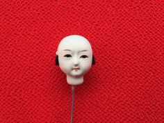 Japanese Doll Head - Vintage  Doll Head - Boy Doll Head - Man Doll Head - Monk No.1 Small Size Bald by VintageFromJapan on Etsy