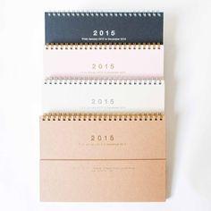 Mark's 2015 Notebook Calendar Magnet from Omoi Zakka Shop Diy Notebook, Notebook Design, Notebooks, Calendar Diary, Calendar Organization, Magnetic Calendar, Office Branding, Desk Calendars, Calendar Design