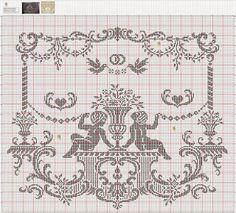 Archivio album Cross Stitch Angels, Cross Stitch Letters, Wolf, Crochet Angels, Filet Crochet, Le Point, Cross Stitch Designs, Plastic Canvas, Cupid