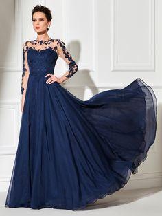 Evening Dress Long Sleeve Evening Dresses, Evening Dresses Online, Elegant Dresses, Cute Dresses, Dresses With Sleeves, Amazing Dresses, Bride Dresses, Gown Skirt, Mothers Dresses