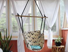 Hanging Fabric Porch Swing