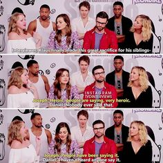 — Daniel's so done with Joseph  Interview→ The Originals Cast Entertainment Weekly SDCC 2016
