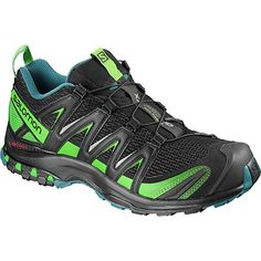 dad39918471db Salomon XA Pro 3D Trail Running Shoe - Men's Black/Deep Lagoon/Onlime Lime