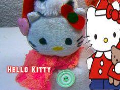 Hello Kitty, Olaf Y Muñeco de Nieves (hecho de Calcetines o Calcetas)   Aprender manualidades es facilisimo.com
