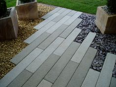 Paving for patio area