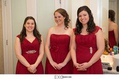 Valentine's Day wedding theme. #bridesmaid #weddingfashion #maidofhonor #weddingstyle