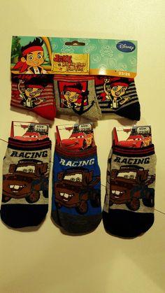 Socken Set's, Disney  Cars oder Jake und die Nimmerland Piraten in Kleidung & Accessoires, Kindermode, Schuhe & Access., Mode für Jungen | eBay!