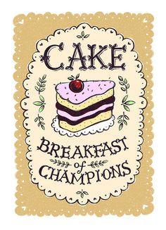 Cake - Breakfast of Champions