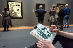 Hier tekenen aub Rijksmuseum #hierteekenen