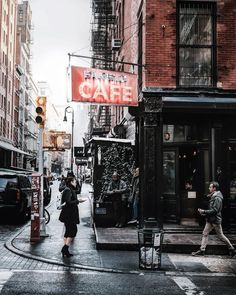 Fanelli Cafe by @mrdrowlands New York City Feelings The Best Photos and Videos of New York City including the Statue of Liberty, Brooklyn Bridge, Central Park, Empire State Building, Chrysler Building and other popular New York places and attractions