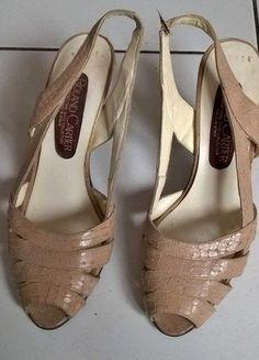 Kup mój przedmiot na #vintedpl http://www.vinted.pl/damskie-obuwie/sandaly/15767371-bezowe-sandalki-obcas-skora-roland-cartier