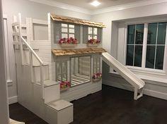 Die ultimative benutzerdefinierte Puppenhaus Loft Etagenbett