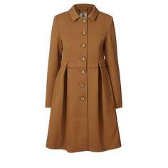 Orla Kiely Pique Wool Coat