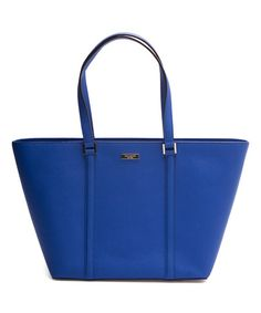 Another great find on #zulily! Orbit Blue Dally Newbury Lane Leather Tote #zulilyfinds