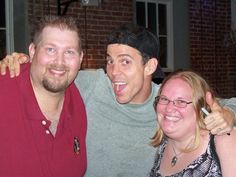 Us with Steve-O at the Tampa Improv