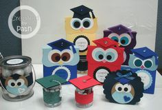 Graduation party favors & table decorations