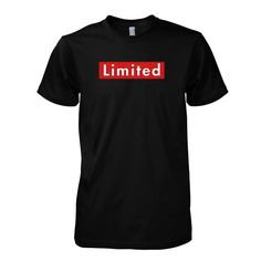 Limited Black T-shirt