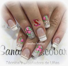 Manicure Y Pedicure, Ideas Para, Nail Art, Beauty, Art Nails, Adhesive, Enamel, Valentines Day Weddings, Crocheted Owls