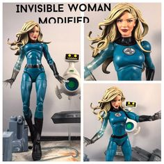 This is a custom of sue storm aka Invisible Woman. This is the Walgreens exclusive modified. She is 6 inches tall and goes great with the Marvel Legends Infinite Series collection. She is fully posable. Payment must be made within 3 days of the auction ending, unless agreed upon. SHIPS TO USA ONLY | eBay!