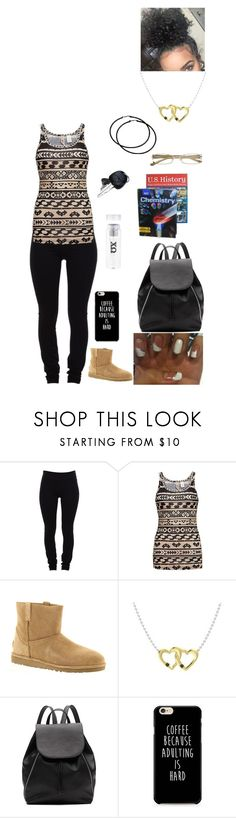 """""""Untitled #2828"""" by alize-roshaun-sims ❤ liked on Polyvore featuring Helmut Lang, BKE, UGG and Witchery"""
