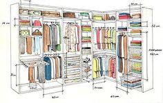 Arquilego, arquitetura e decoração, online e express | 3 Dicas Para Montar seu Closet