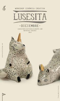 such china | so adorable | LUSESITA DELICATESSEN by estudio archipielago, via Behance #art #design #ceramics