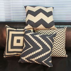 Durable Home Decorative Pillow Covers Room Decors Stripped Car Cushion Covers