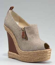 Christian Louboutin Flannel Espadrille. uh... YES PLEASE. and I'll take the black ones too.