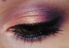 Peaches & Plums - 120 Eyeshadow Palette Eye Make Up Look # Pin++ for Pinterest #