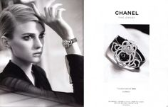 Chanel Camélia Brodé FW 2012 Sigrid Agren by Dominique Isserman