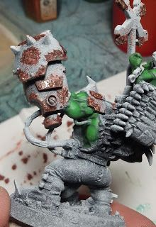 Orky rust technique.