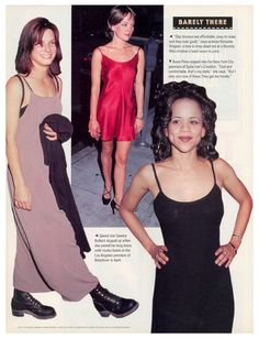 slip dresses in People magazine, 1994