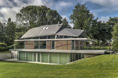 Paviljoenachtige villa H Hilvarenbeek achterzijde